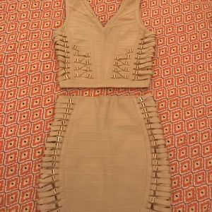 Dresses & Skirts - Worn once Herve Leger two piece style